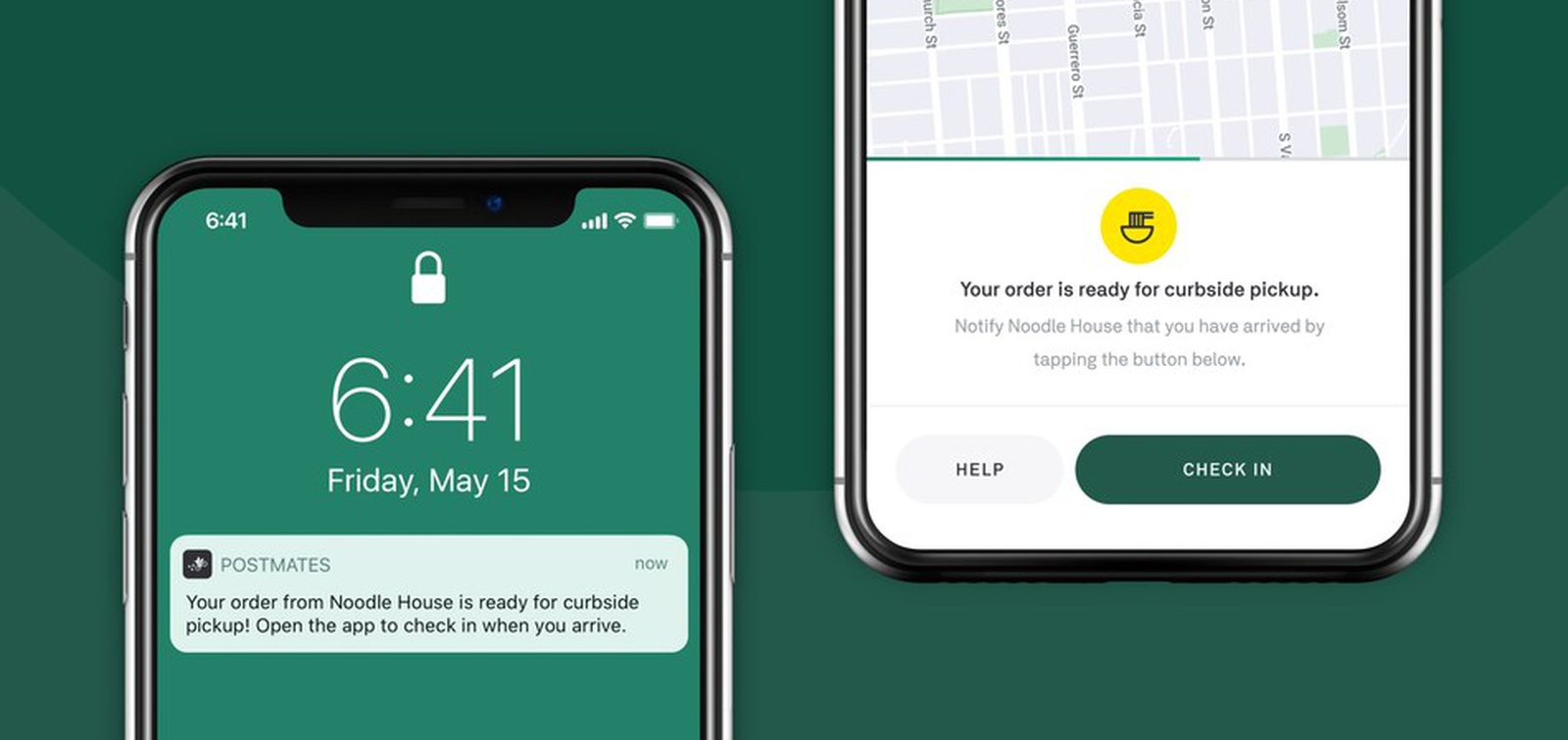 Postmates adds curbside pickup feature