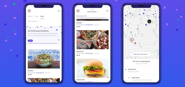 Postmates rolls out free group delivery feature