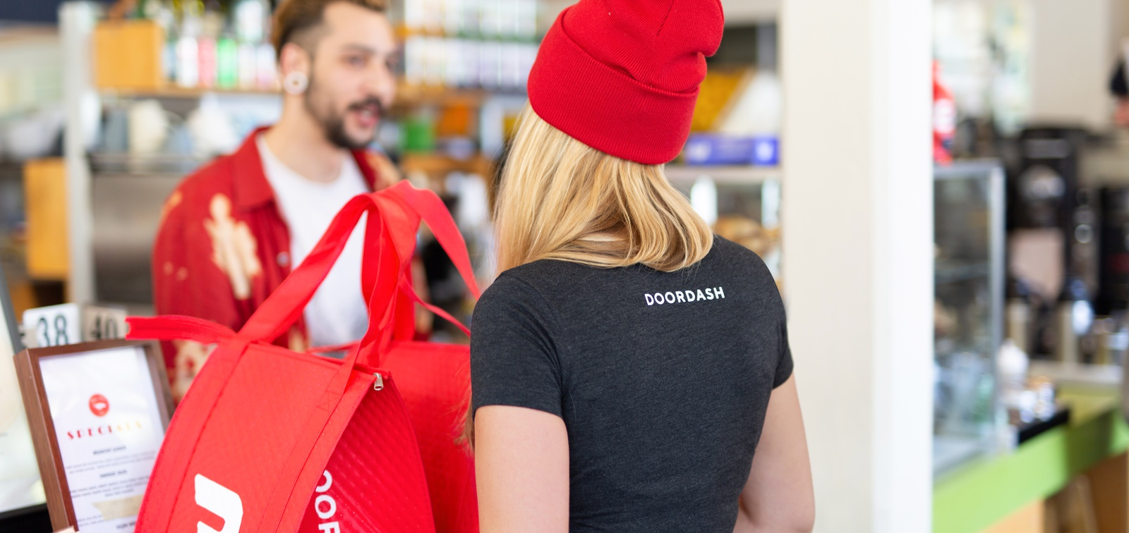 DoorDash named fastest growing company in US